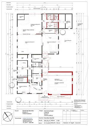 Umbau-Plan